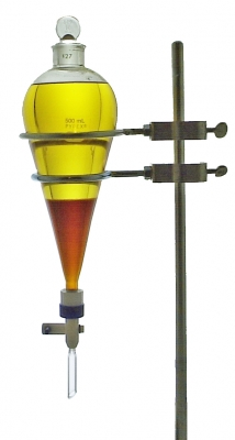Biodiesel in a Separatory Funnel