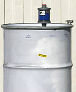 Drum Desiccant Vent to keep water out of drum.