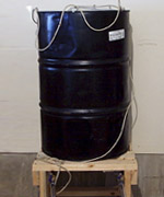 Steel Drum Biodiesel Washtank