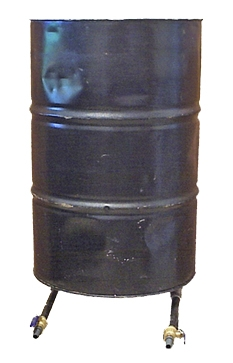 55 Gallon Steel drum Standpipe Tank
